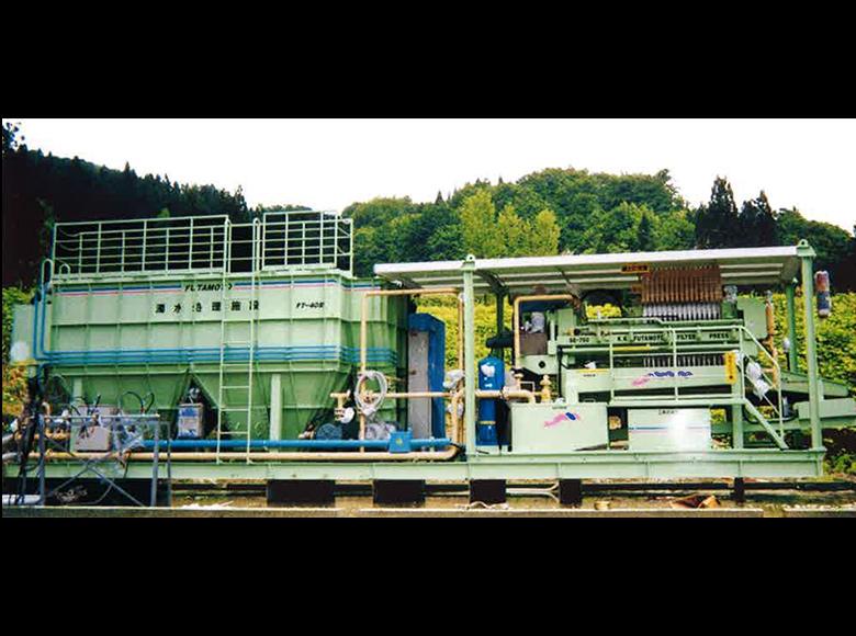 ムーブ型濁水処理装置,F-T型