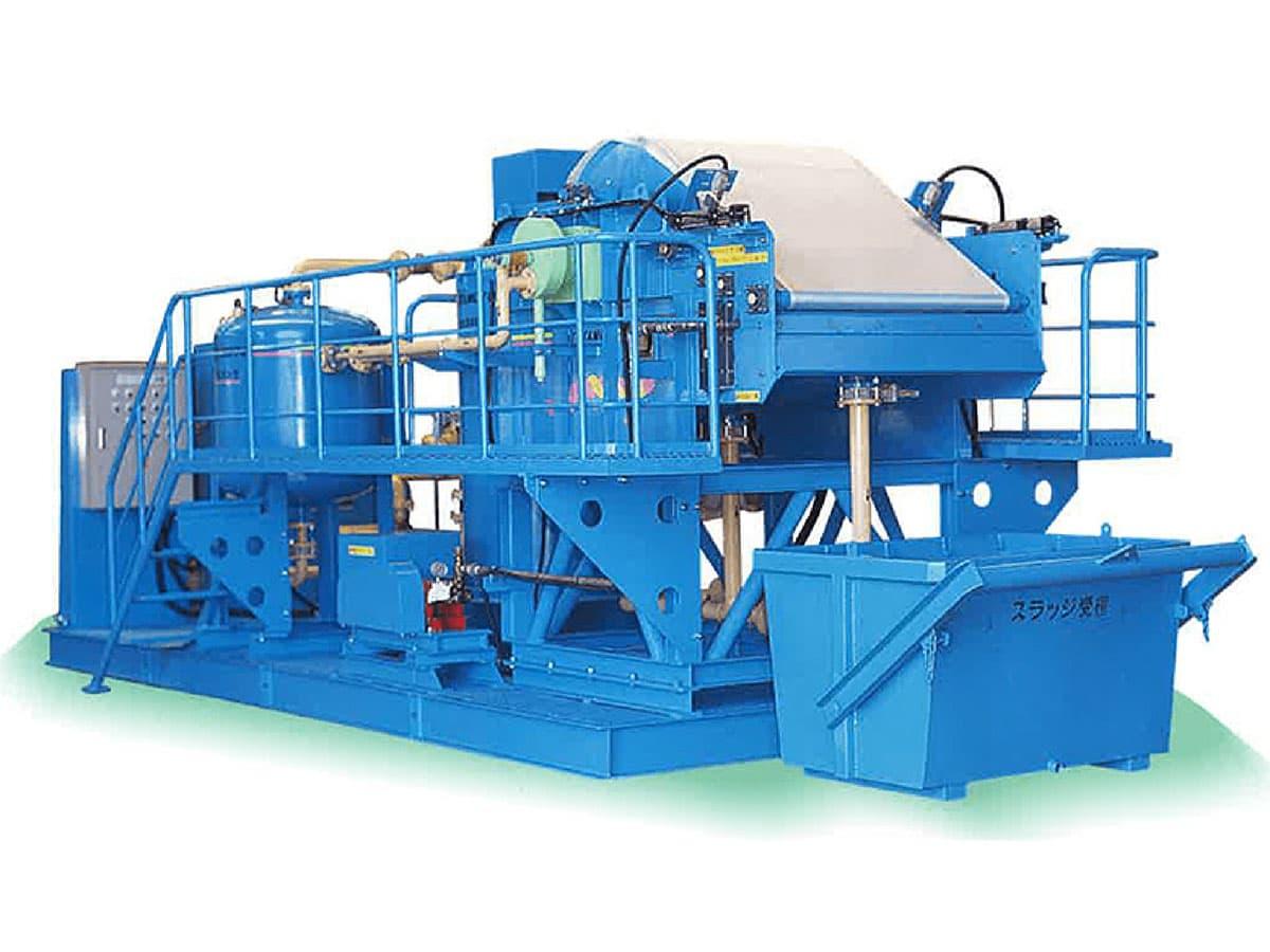 ムーブ型濁水処理装置 F-T型