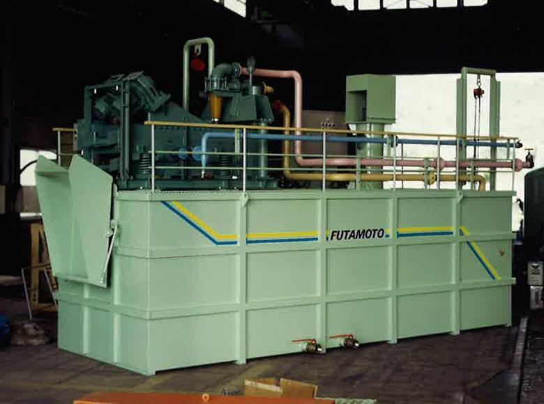 泥水処理装置振動篩機,FTU型